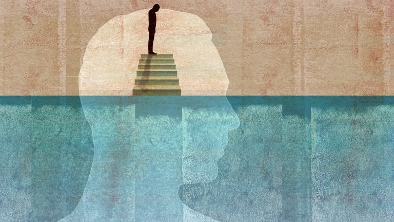 Australia has the second highest rate of antidepressant use in the world, with nearly one in 10 Australians taking them. Illustration by Getty Images