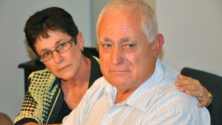 Mary Vallelonga with her husband Tony Vallelonga, the former mayor of the City of Stirling.