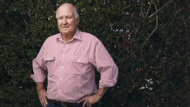 Retired MP Tony Windsor.