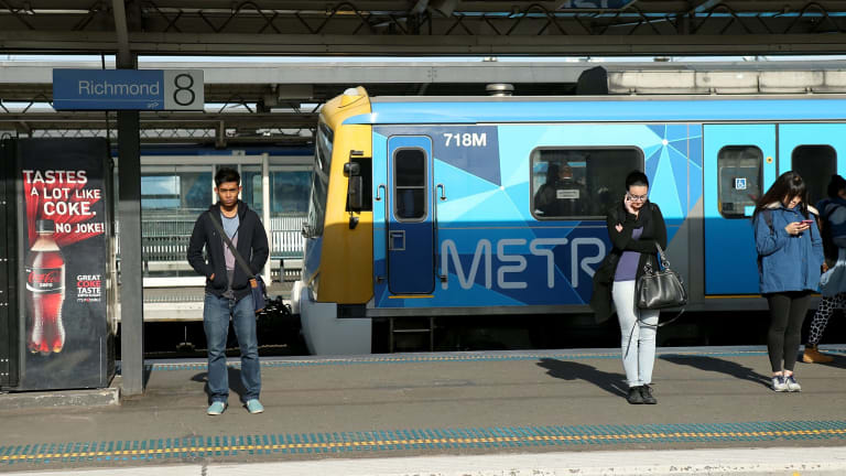 Metro trains is breaching passenger limits on morning and evening peak hour trains.