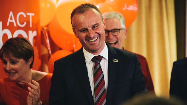 Andrew Barr will have several more Labor MLAs in the Assembly this time.