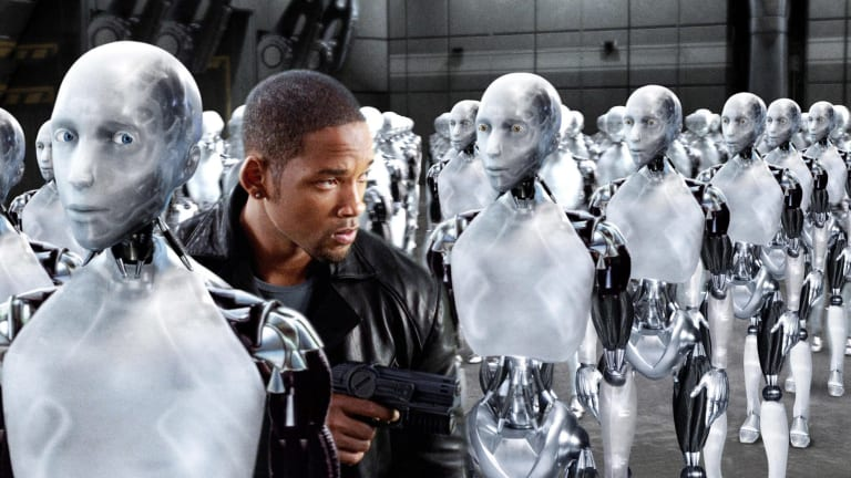 "The movie ""I Robot"" starring Will Smith envisaged a future world ruled by robots. KPMG does too."