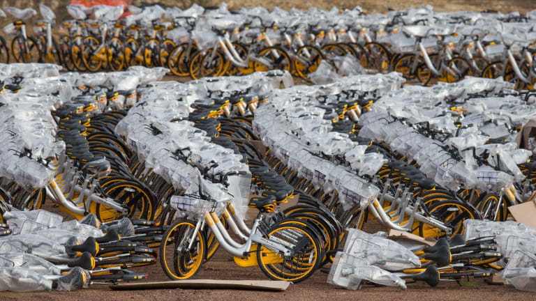 oBike began in Sinapore in 2016 and are launching in Melbourne.