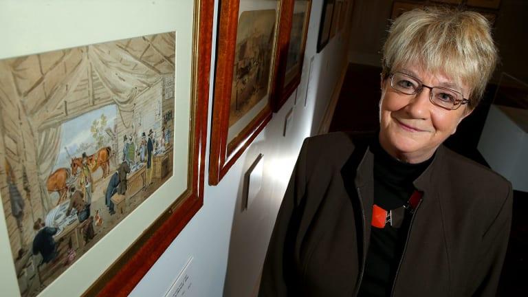 Convict scholar Babette Smith claims celebrated Australian artist S.T. Gill was a convict.