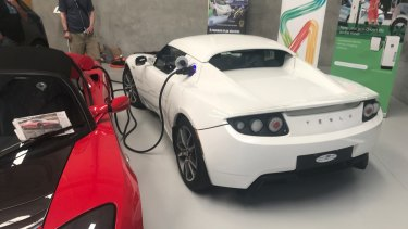A world record attempt featuring charged-up cars has been made in Kwinana.