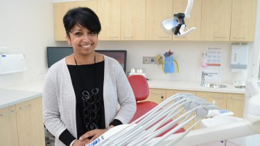 """Dentistry is a very flexible career for women,"" Dr Sabrina Manickam said."