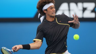 Nick Lindahl  beat teenage sensation Bernard Tomic in the Australian Open play-offs in 2009.
