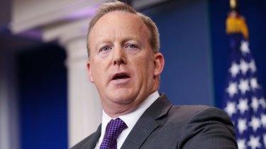 Sean Spicer resigned as White House press secretary.