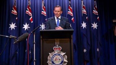 Prime Minister Tony Abbott.  Photo: Andrew Meares