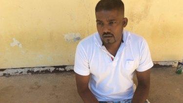 Tamil asylum seeker K. Kayuran wanted passage to New Zealand.
