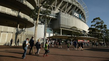Venue: Rajiv Mulchandani was evicted from ANZ Stadium during the Sydney Thunder-Brisbane Heat match on Sunday.
