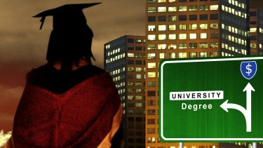 In WA, 44 university graduates are competing for every entry-level job.