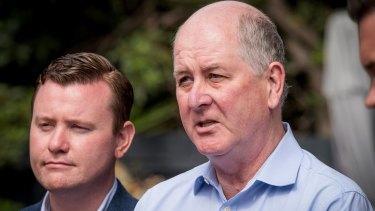 Planning Minister Richard Wynne announces the new Plan Melbourne blueprint.