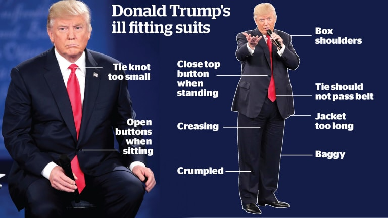 Why donald trumps suits dont fit tremendous a guide to whats wrong with donald trumps ccuart Gallery