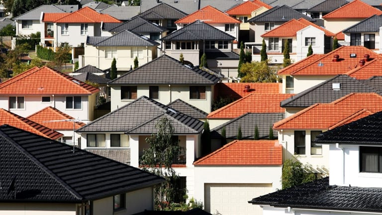 "Fewer investors are ""flipping"" properties for easy profits as house prices cool."