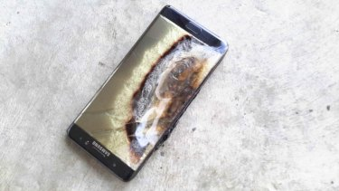 The Note 7 was recalled because it battery could overheat.