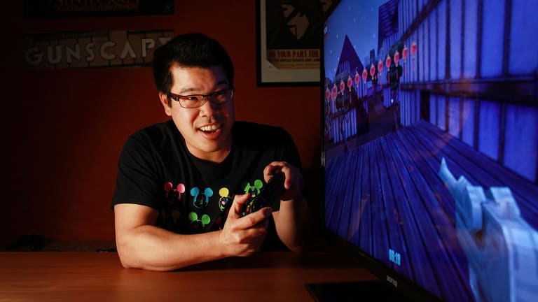 """""""There needs to be a desire to compete globally"""": Ben Lee of Blowfish Studios."""
