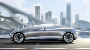 Driverless cars could make Melbourne congestion worse.