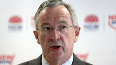 """NSW Attorney-General Brad Hazzard: The policy is """"potentially a major game changer."""""""