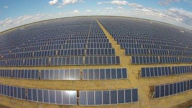 FRV solar farm in Moree, NSW.