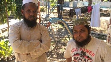 Bangladeshis Muhammad Habib and Nazmul Hassan.
