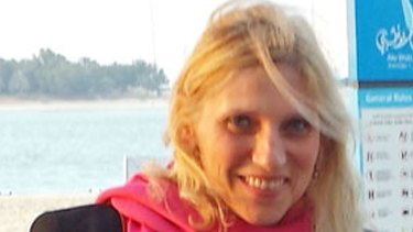An undated photograph  of American schoolteacher Ibolya Ryan who was killed last year in a stabbing attack in the restroom of the Boutik Mall on the upscale Reem Island in Abu Dhabi, United Arab Emirates.