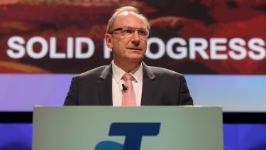 """Changing the dividend policy was one of the toughest decisions the Board has ever had to make,"" says Telstra chairman John Mullen."