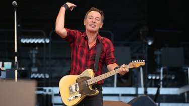 Bruce Springsteen wheeled out the hayseed novelty tune <i>Don't Hang Up</i> at AAMI Park.