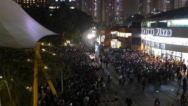 Popular: A community screening of Ten Years in  Hong Kong, on April 1.