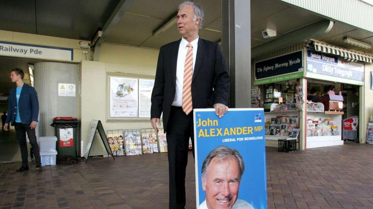 Federal member for Bennelong John Alexander.