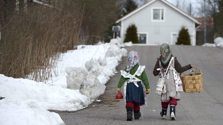 Children in Finland.