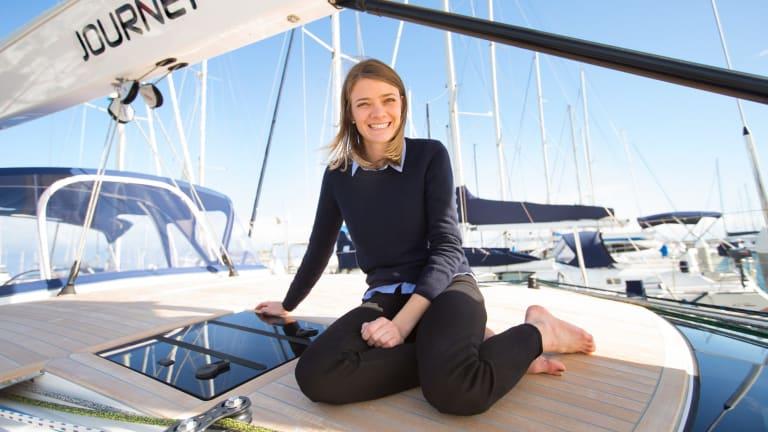 Jessica Watson has a start-up yachting business.