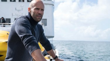Jason Statham in The Meg.