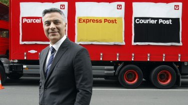 Australia Post chief executive Ahmed Fahour says letters will never make money again.