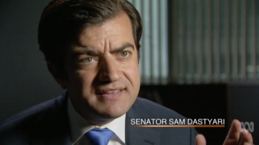 """Senator Sam Dastyari: """"The business model is built around 'We will allow you to engage in practices for a small fee that would otherwise be illegal in your host country'."""""""