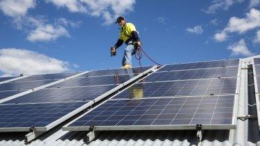Solar panel capacity held up in 2014 despite headwinds.