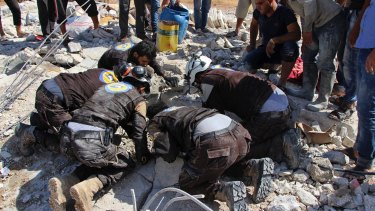 In Syria, civilian casualties are soaring in cease-fire zones