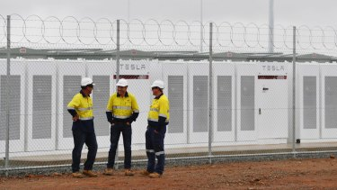 Tesla's 100 megawatt lithium-ion battery in SA provided grid services on hundreds of occasions in December, according to the Australian Energy Market Operator.