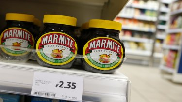 The Anglo-Dutch multinational Unilever owns numerous well-known brands such as Britain's Marmite.