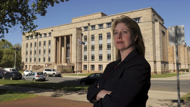 CPSU deputy secretary Beth Vincent-Pietsch.
