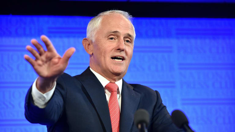 """As we can afford to reduce personal income taxes, we will,"" Malcolm Turnbull told the National Press Club in February."