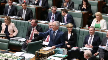 Turnbull government unveils changes to question time