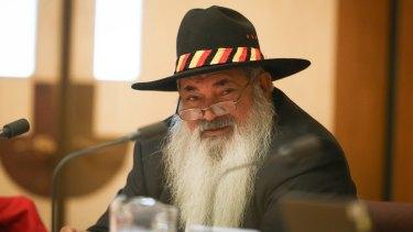 Senator Pat Dodson targeted Indigenous Affairs Minister Nigel Scullion.
