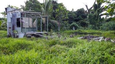 A decrepit structure in Vunidogoloa.