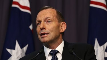 Prime Minister Tony Abbott has announced his government's plans for emission reductions post 2020.