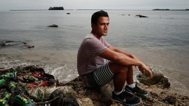 Rohingyan refugee Imran Mohammad, a party to the class action, who is still on Manus Island.