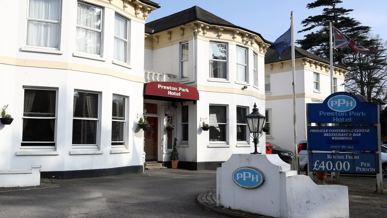 The Preston Park Hotel in Brighton, United Kingdom, where Khalid Masood stayed the night before he murdered four people in a terror attack in Westminster.