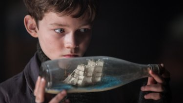 <i>Pan</i>: Australian actor Levi Miller plays Peter as a spirited, adventurous child.