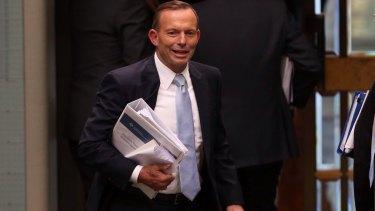 Prime Minister Tony Abbott this week.