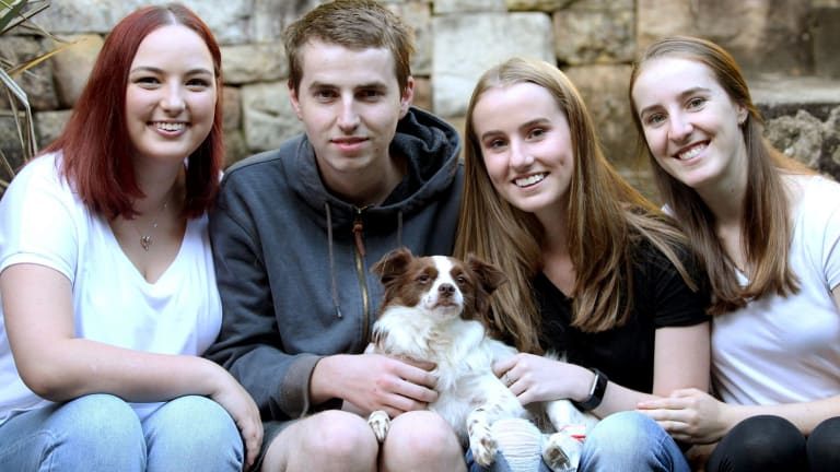 Sydney's miracle dog Charlie survives after three trains pass over him